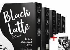 Black latte – užitočný – cena – v lekárni