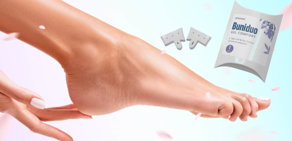 Buniduo gel comfort - na krivý prst – kúpiť – test – gél
